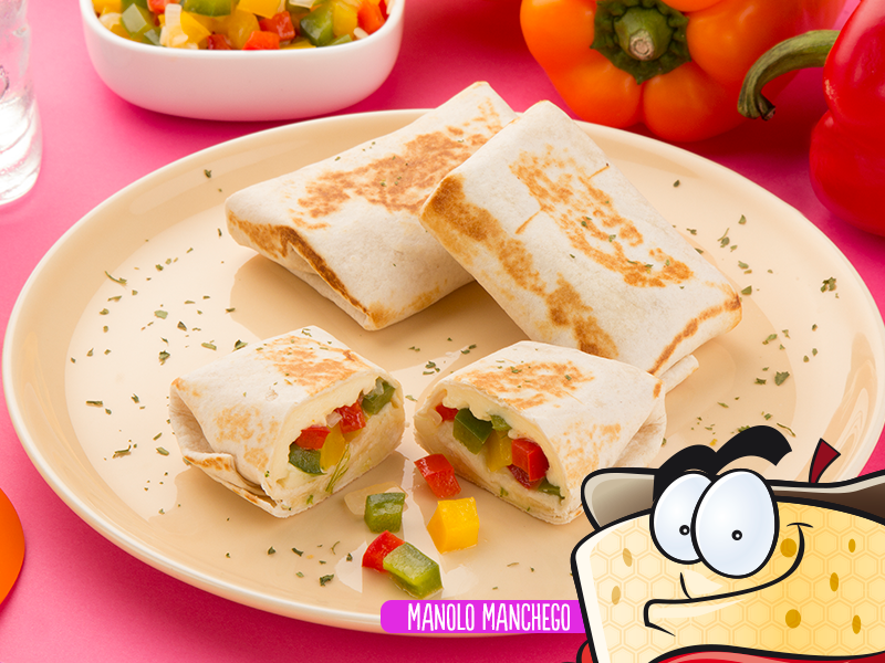 Burrito de queso