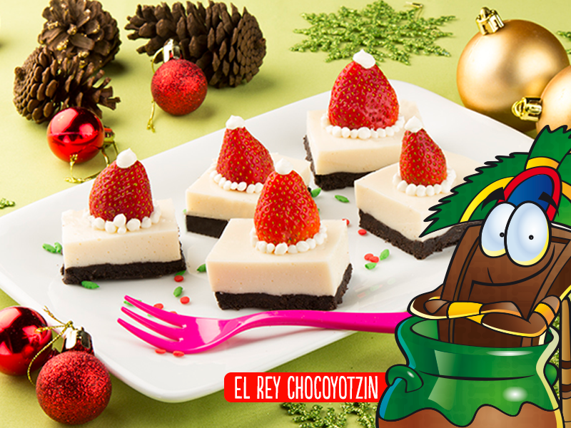 Cheesecake Santa Claus