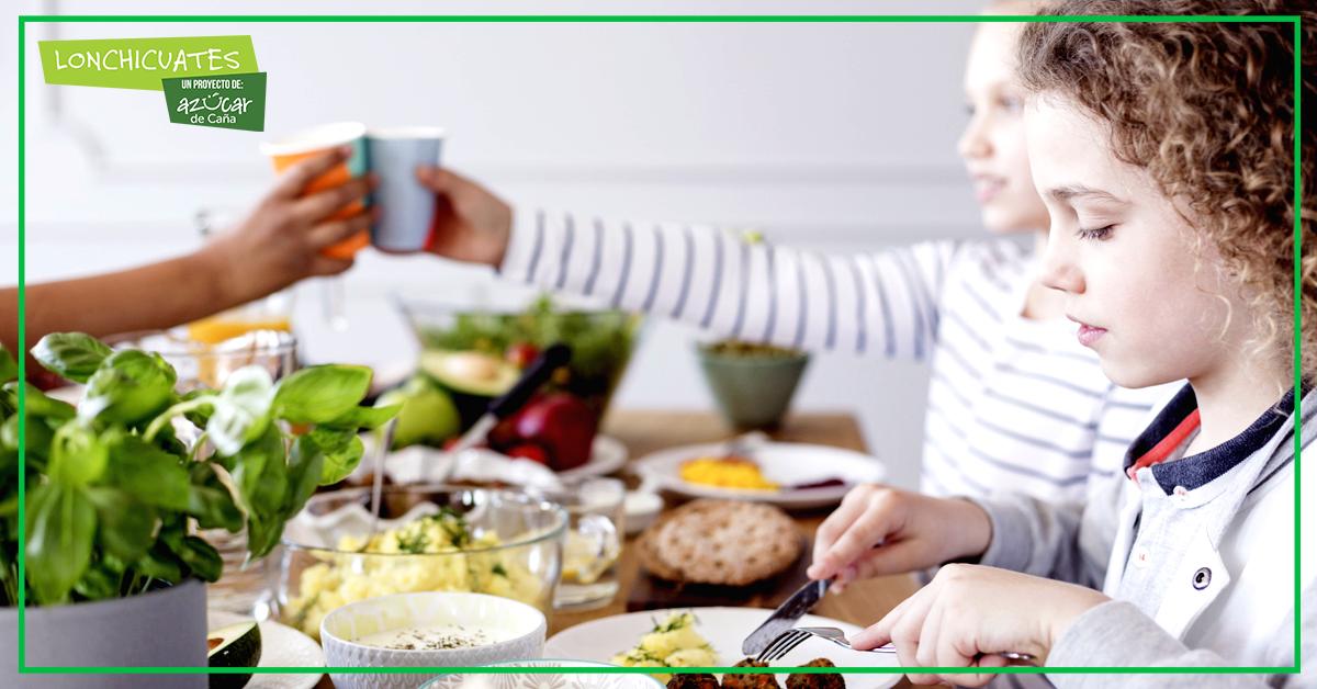 Pasos para que los niños tengan una alimentación equilibrada