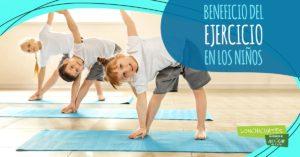 Beneficios del ejercicio en los niños