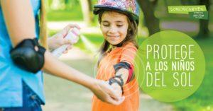5 tips para proteger a los niños del sol