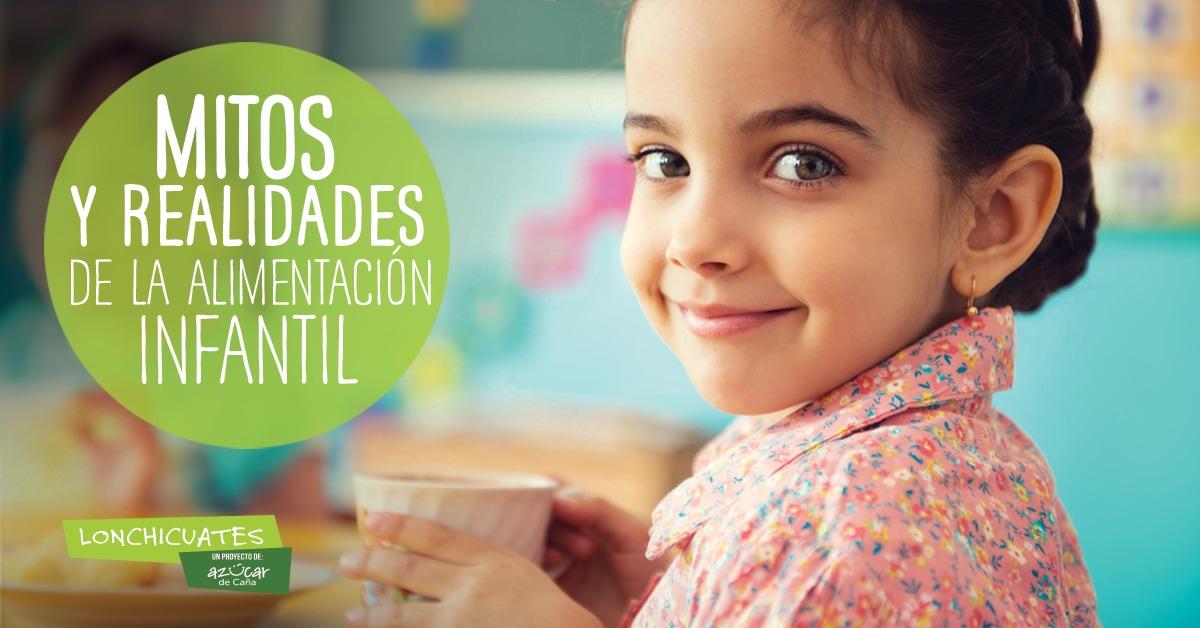 5 mitos de la alimentación infantil