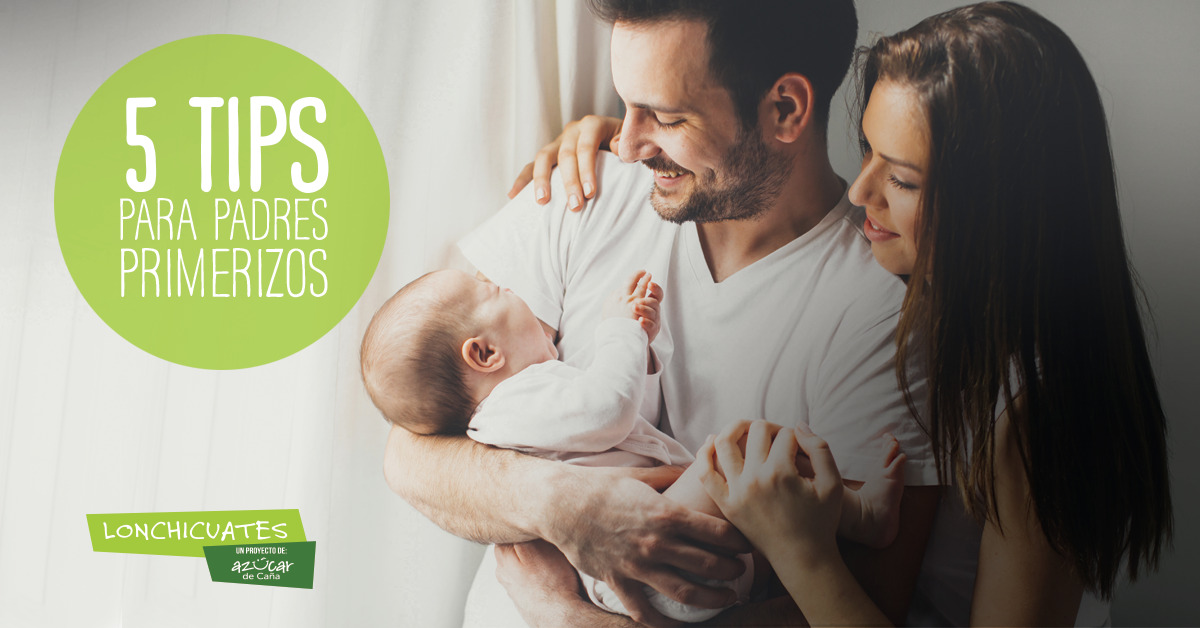 5 tips para padres primerizos